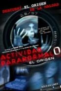 pelicula Actividad Paranormal 0,Actividad Paranormal 0 online