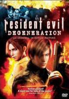 Resident Evil: Degeneracion online, pelicula Resident Evil: Degeneracion