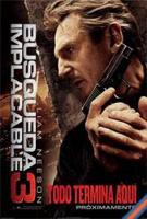 Busqueda Implacable 3 online, pelicula Busqueda Implacable 3
