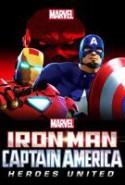 pelicula Iron Man y Capitan America: Heroes United,Iron Man y Capitan America: Heroes United online